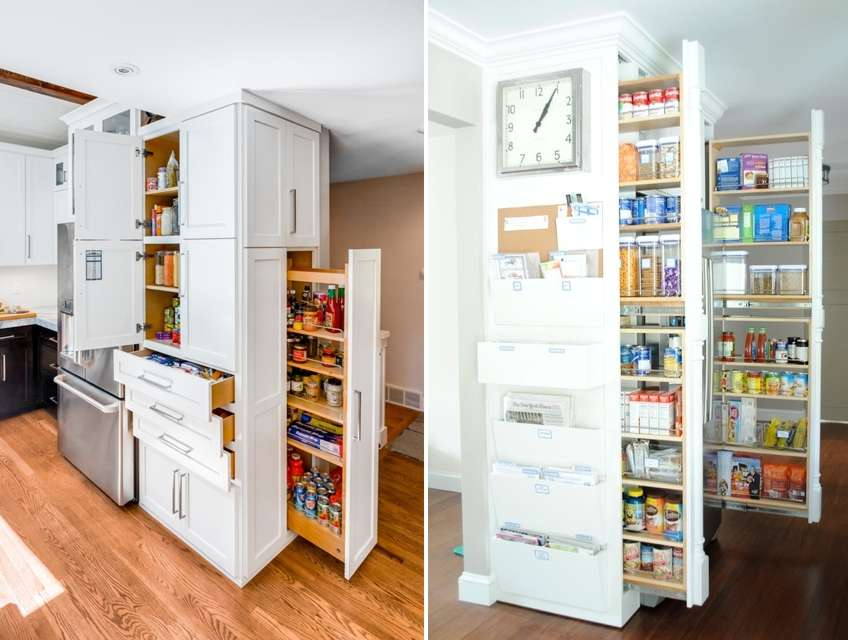 10 Vertical Kitchen Storage Ideas That Will Leave You Inspired