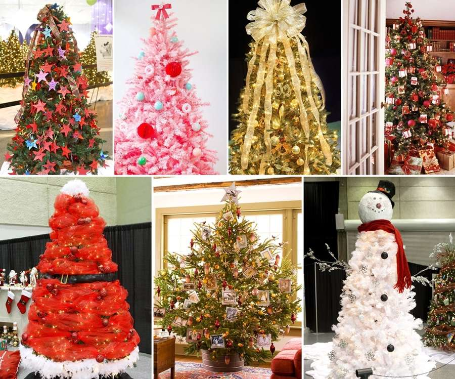 20 Creative Christmas Tree Themes That You 39 Ll Love