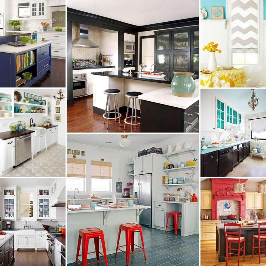 How To Spruce Up Kitchen Cabinets: 18 Ideas To Spruce Up Your Kitchen With Paint