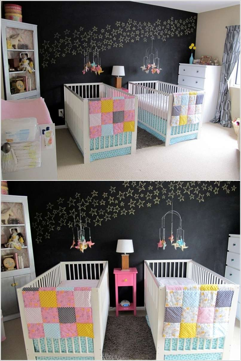 10  15 Adorable Ideas to Decorate Baby Nursery Walls 1019