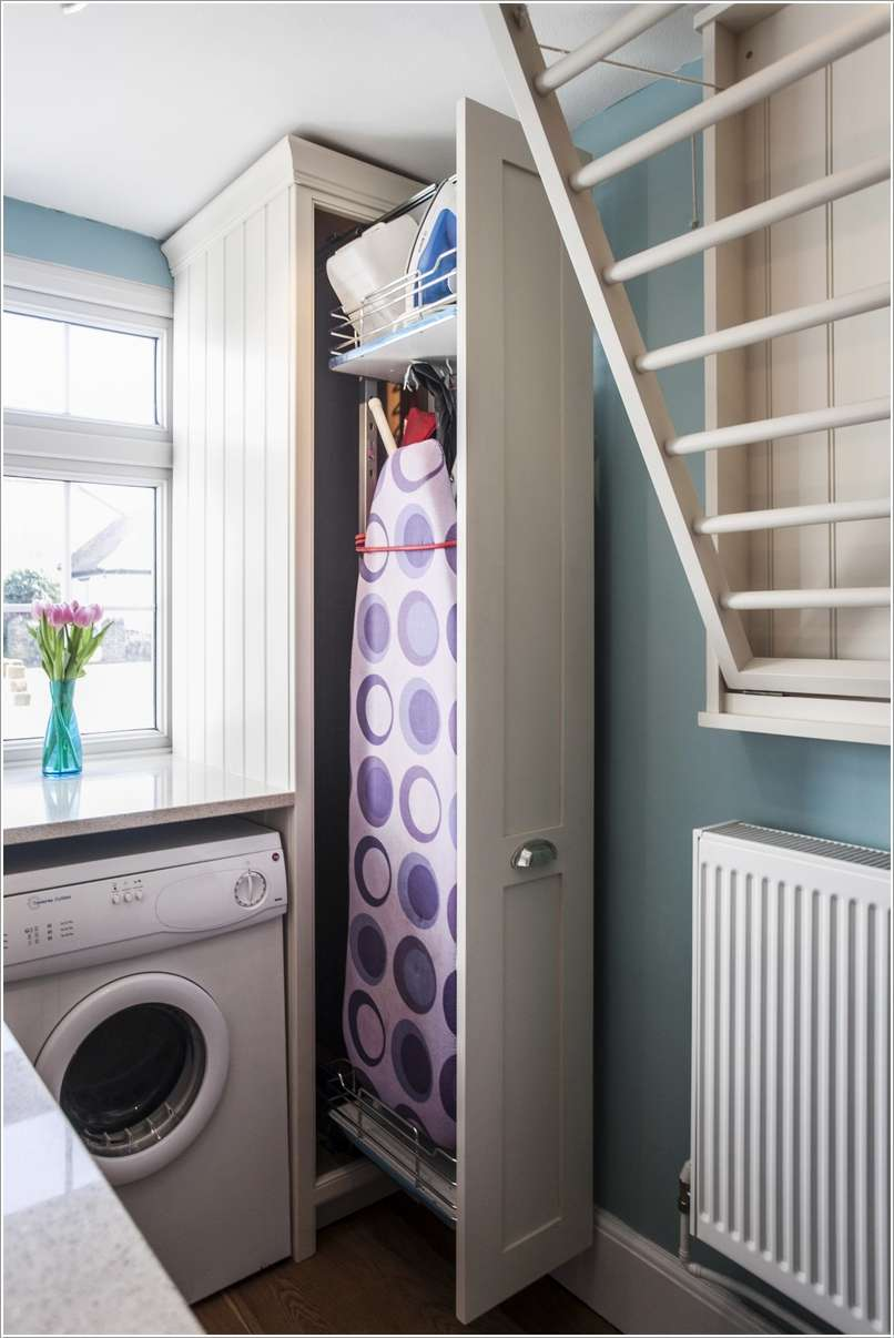 Interior Design 10 Clever Space Saving Ideas For A Small Laundry Room