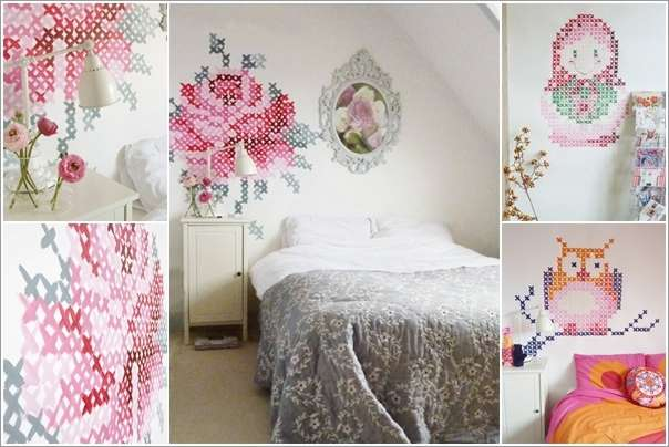 10  15 Cool Home Decor Ideas with Cross Stitch 1029