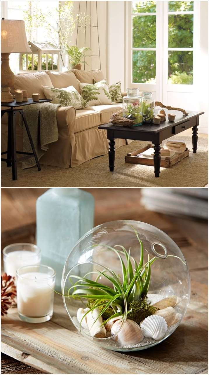 Small Coffee Table Decor Living Room