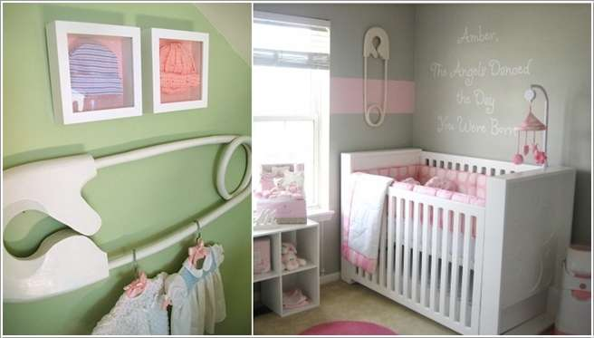 11  15 Adorable Ideas to Decorate Baby Nursery Walls 1118