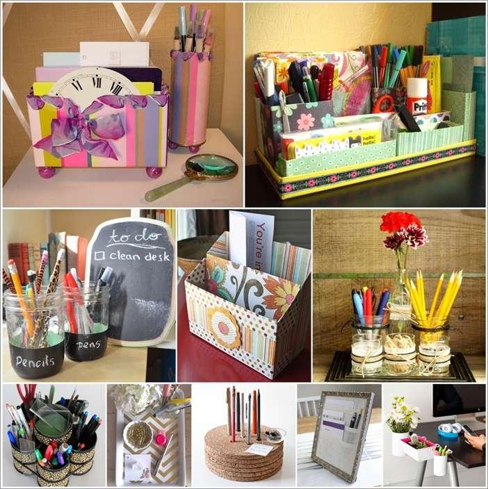 ordinary Diy Desk Organization Part - 17: Amazing Interior Design