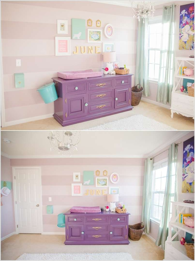 12  15 Adorable Ideas to Decorate Baby Nursery Walls 1215
