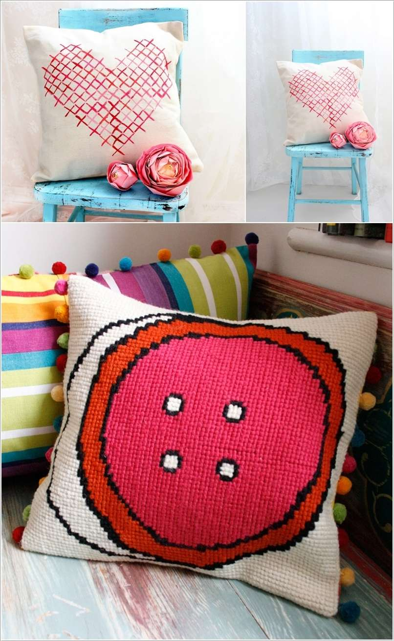 12  15 Cool Home Decor Ideas with Cross Stitch 1220