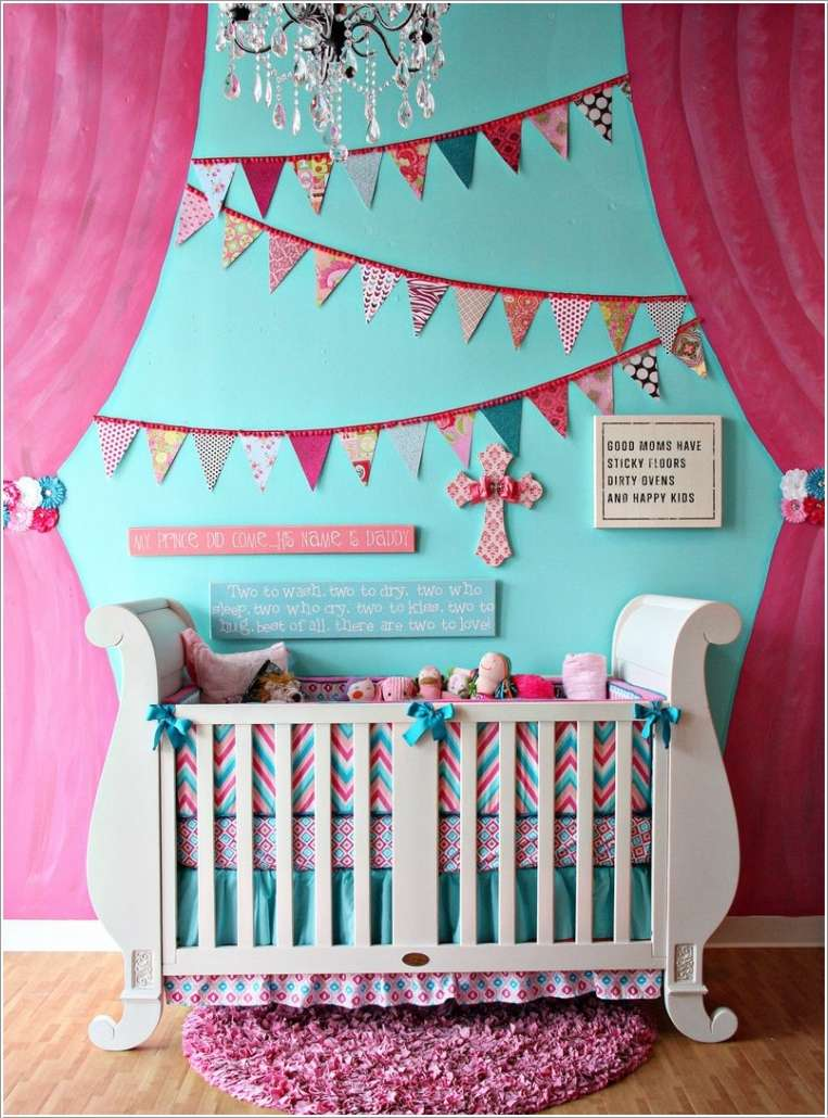 13  15 Adorable Ideas to Decorate Baby Nursery Walls 1313