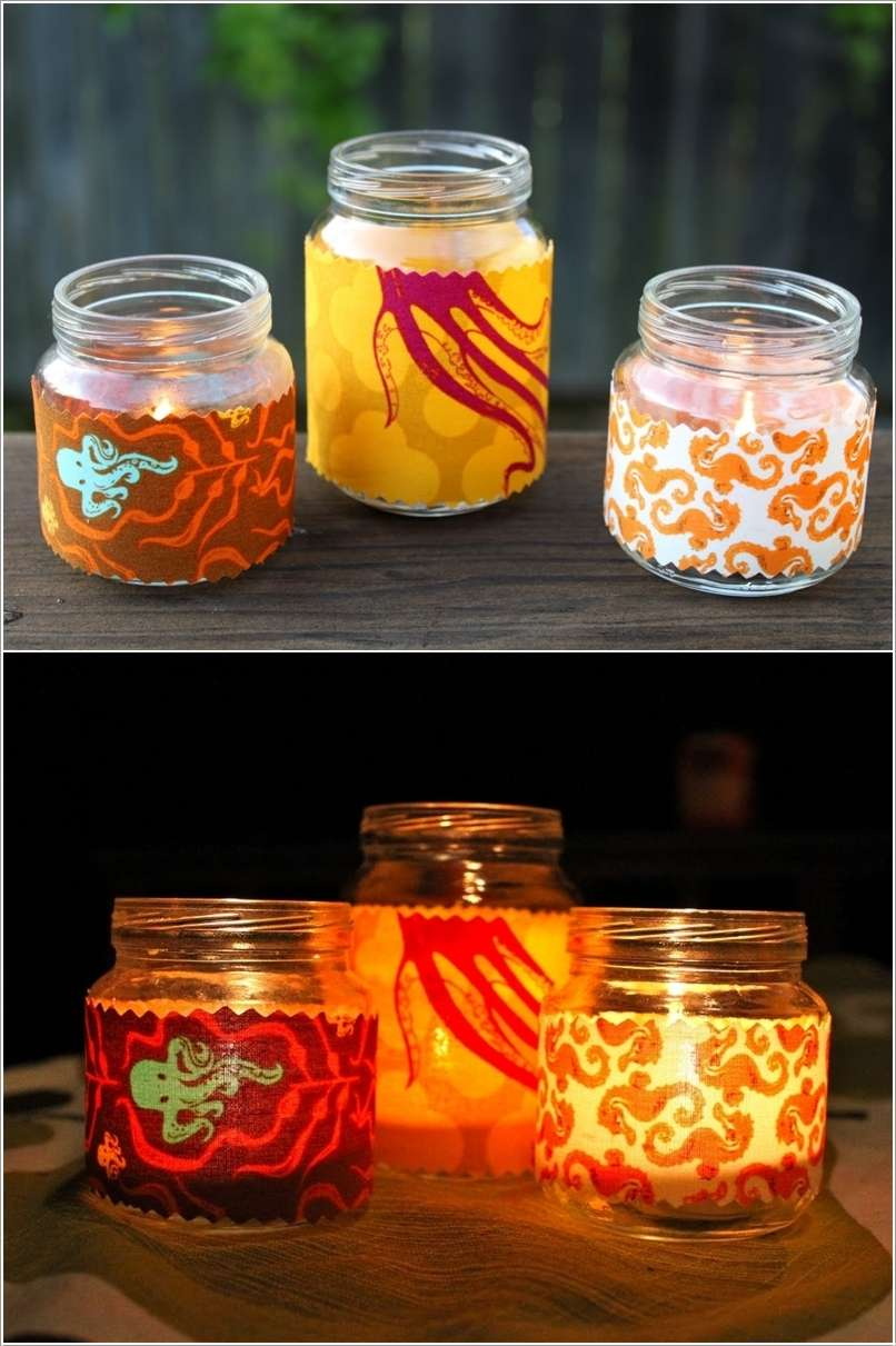 13  15 Awesome Ideas to Recycle Baby Food Jars for Home Decor 1314