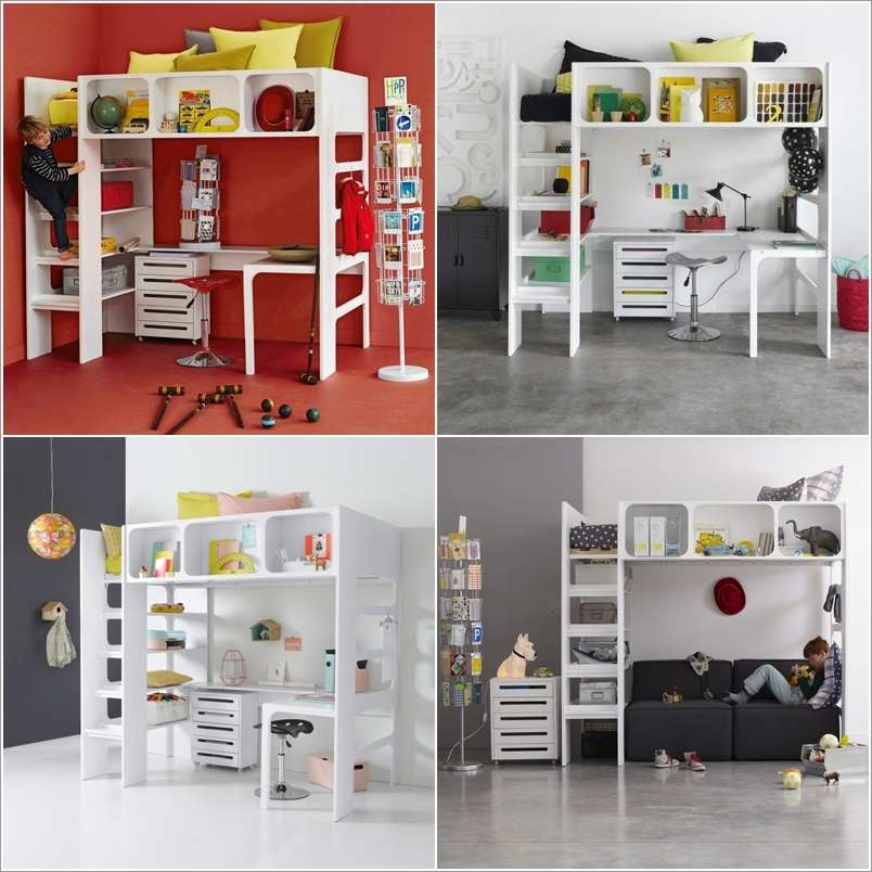 13  15 Space-Saving Bed Designs for Your Kids' Room 1315