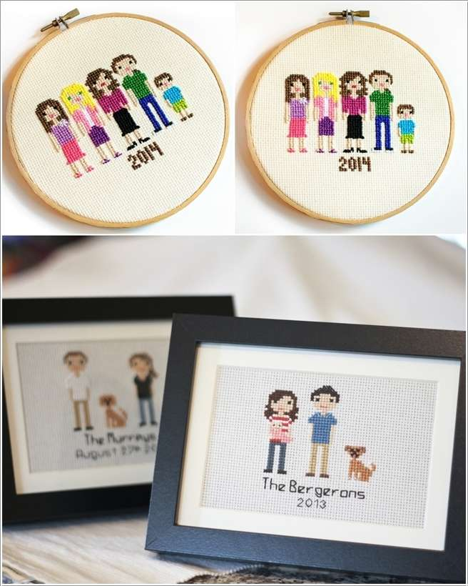 13  15 Cool Home Decor Ideas with Cross Stitch 1318