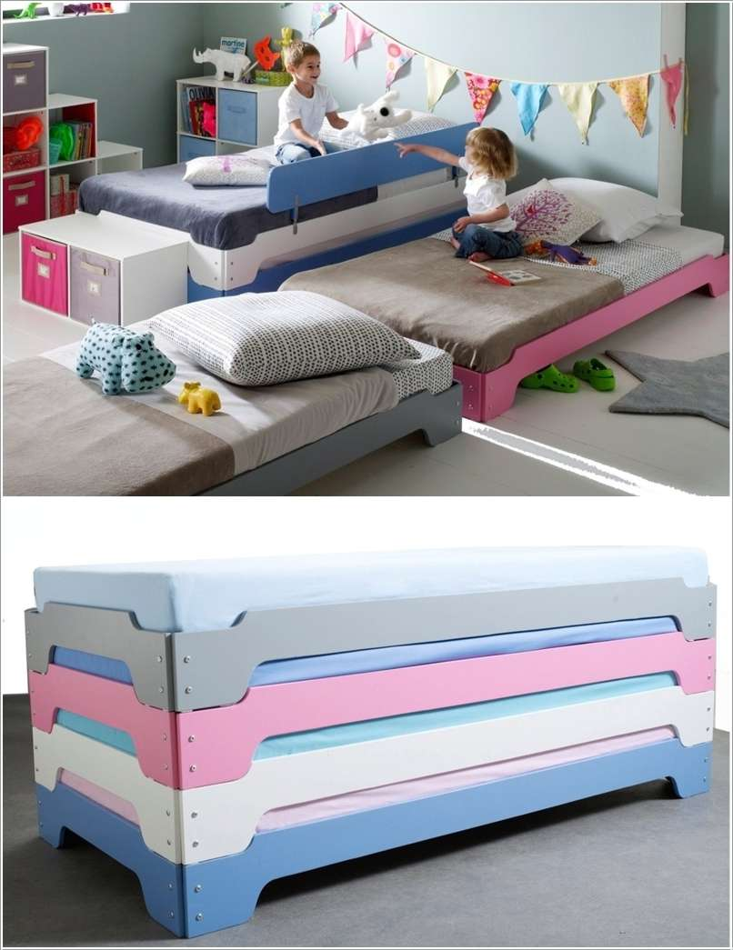 14  15 Space-Saving Bed Designs for Your Kids' Room 1414