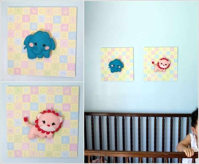 15  15 Adorable Ideas to Decorate Baby Nursery Walls 1511