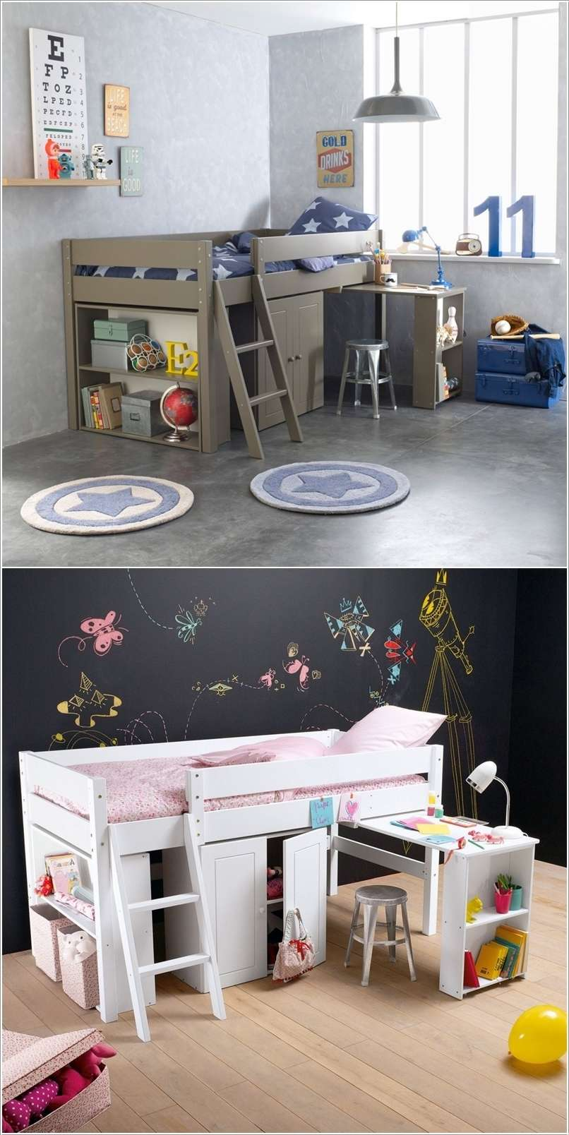 15 Space Saving Bed Designs For Your Kids Room
