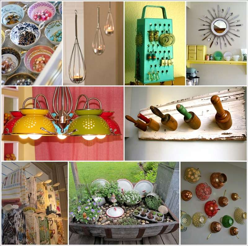 38 ingenious ideas to recycle old kitchen stuff for Recycle old things
