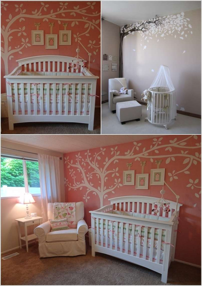 1  15 Adorable Ideas to Decorate Baby Nursery Walls 164