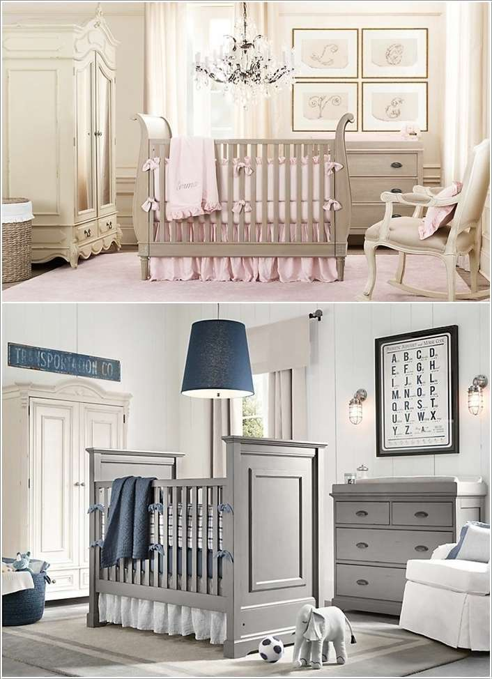 2  15 Adorable Ideas to Decorate Baby Nursery Walls 219