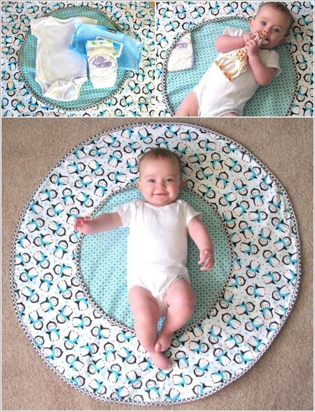 2  10 Cute DIY Baby Mats That You'll Love to Make 220