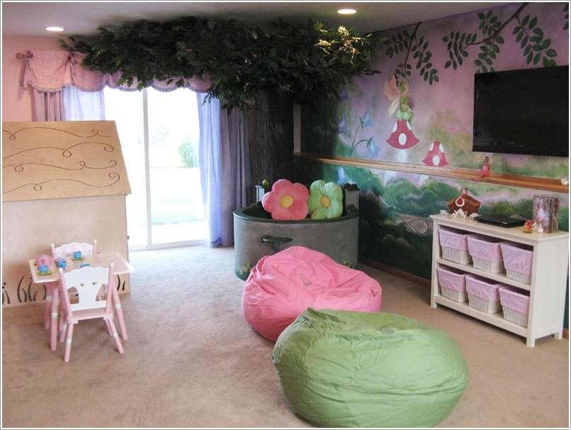 2  10 Cute Ideas to Add Garden Inspiration to Your Kids' Room 221
