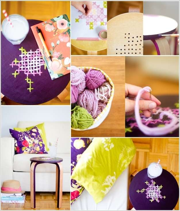 2  15 Cool Home Decor Ideas with Cross Stitch 229