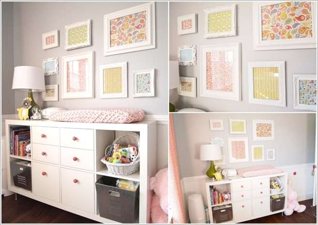 3  15 Adorable Ideas to Decorate Baby Nursery Walls 318