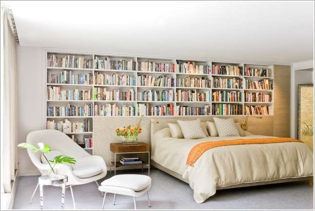 10 awesome bedroom bookcase ideas that you will admire
