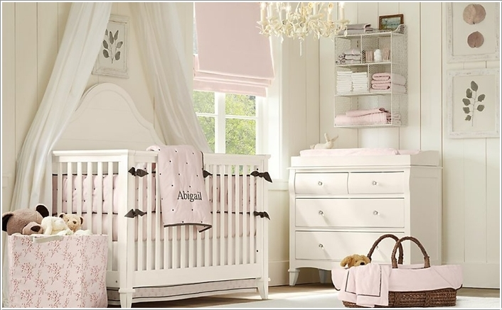 5  15 Adorable Ideas to Decorate Baby Nursery Walls 5