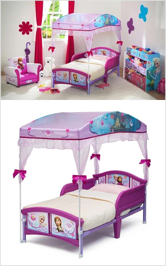 12 Cute Cartoon Themed Beds That Your Kids Will Love
