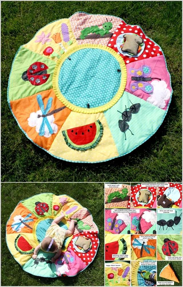 5  10 Cute DIY Baby Mats That You'll Love to Make 517