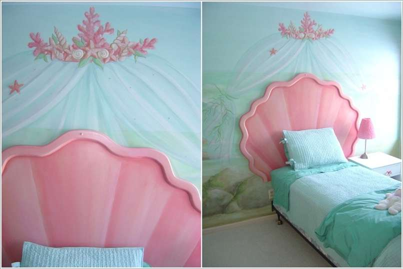 7 Inspiring Kid Room Color Options For Your Little Ones: 15 Lovely Disney Princesses Inspired Girls' Room Decor Ideas