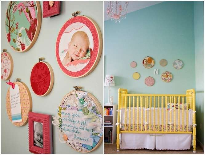 6  15 Adorable Ideas to Decorate Baby Nursery Walls 618