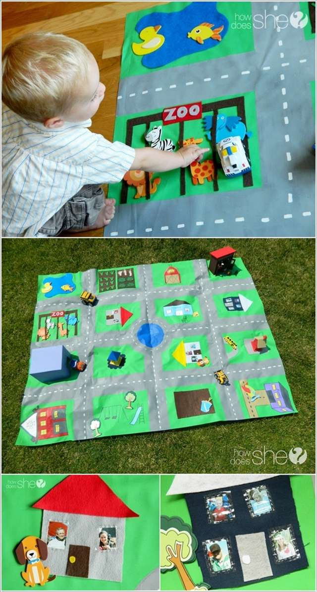 6  10 Cute DIY Baby Mats That You'll Love to Make 619