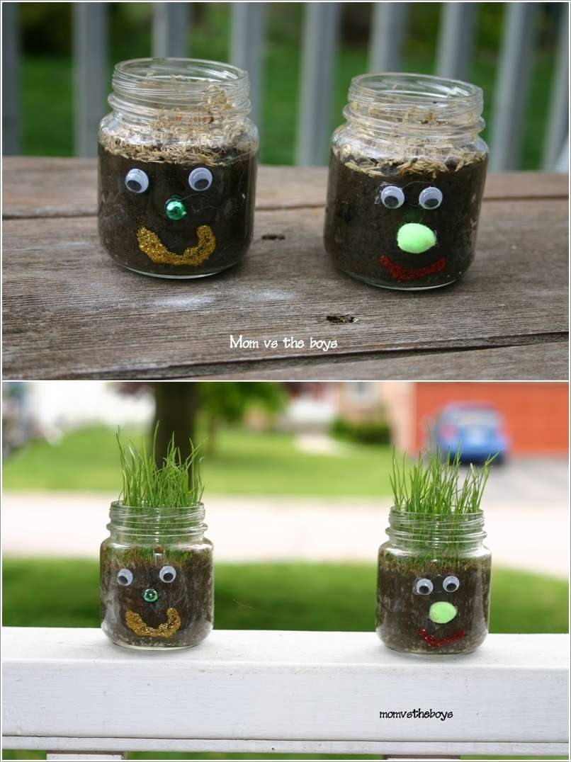 6  15 Awesome Ideas to Recycle Baby Food Jars for Home Decor 622