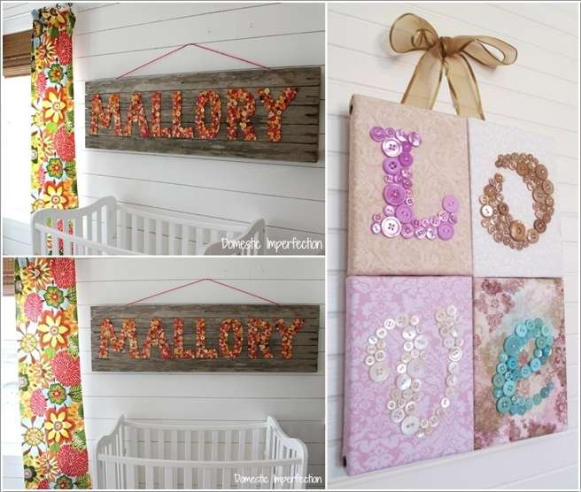 7  15 Adorable Ideas to Decorate Baby Nursery Walls 718