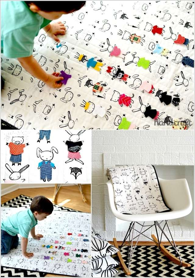7  10 Cute DIY Baby Mats That You'll Love to Make 719