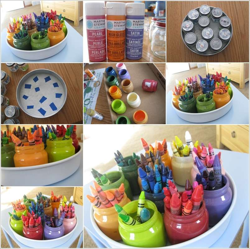 7  15 Awesome Ideas to Recycle Baby Food Jars for Home Decor 722