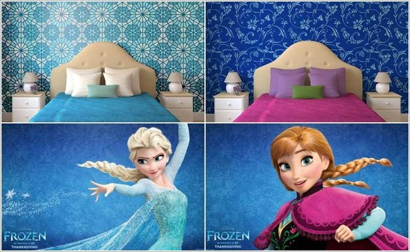10 Frozen Movie Inspired Kids Room Decor Ideas