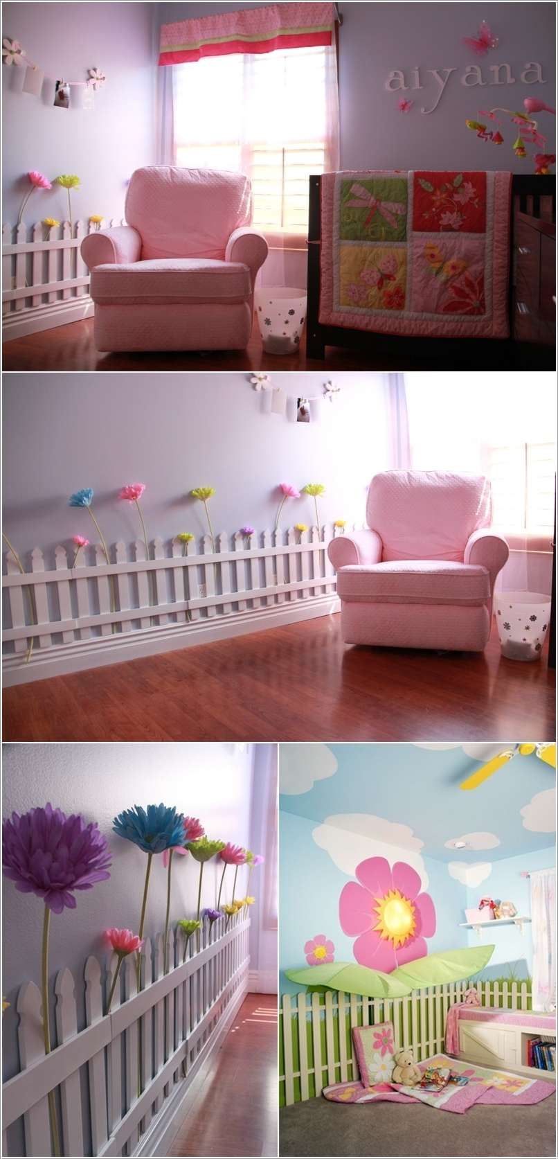 8  10 Cute Ideas to Add Garden Inspiration to Your Kids' Room 820
