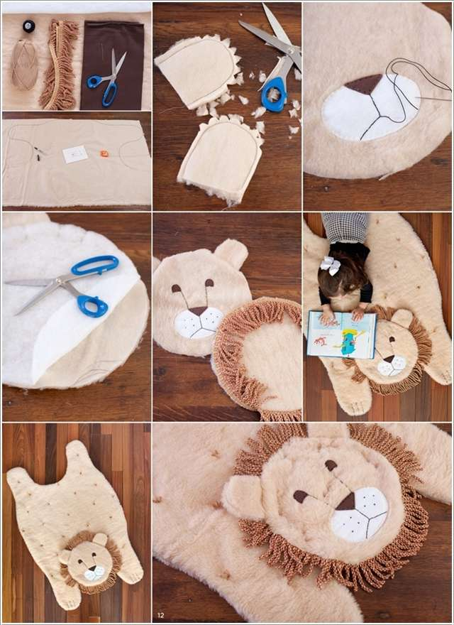 9  10 Cute DIY Baby Mats That You'll Love to Make 919