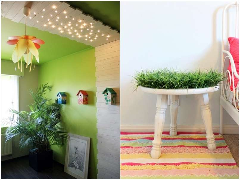 9  10 Cute Ideas to Add Garden Inspiration to Your Kids' Room 920