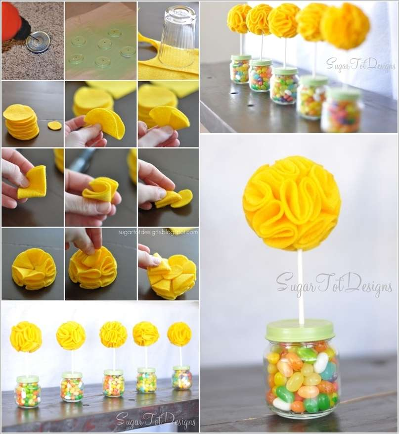 9  15 Awesome Ideas to Recycle Baby Food Jars for Home Decor 922