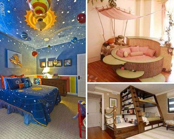17 Super Fun Themed Kid's Room Ideas