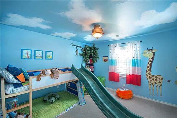 Girrafe Kid Room