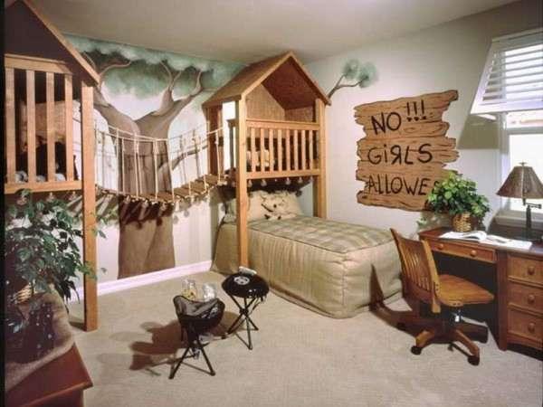 Jungle Kid Room