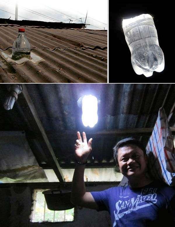 Plastic Bottle Solar Light