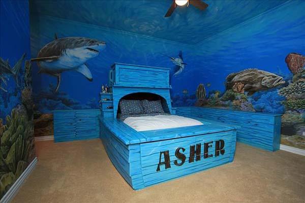 Shark Kid Room