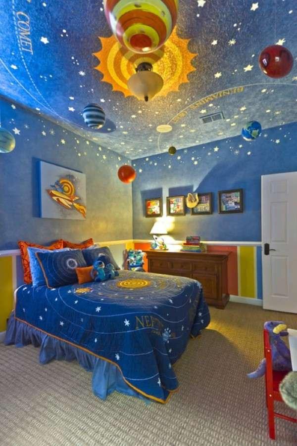 Space Kid Room