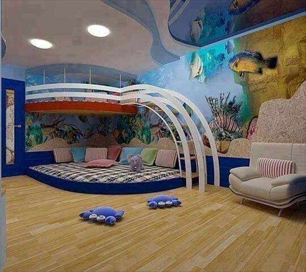 Under The Sea Kid Room