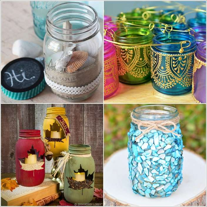 10 awesome diy mason jar decor ideas