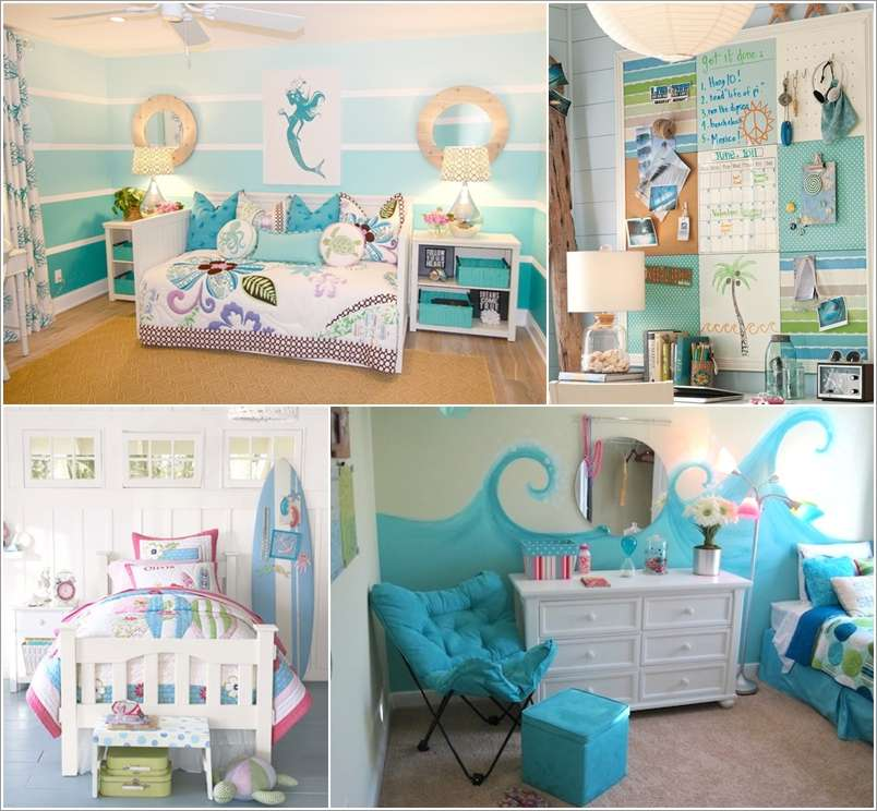 15 adorable sea themed kids room wall decor ideas